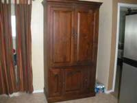 very nice tv armoire ive lowered the price. this piece