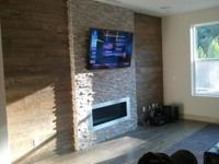 ((((( TV & SOUND INSTALL ))))) - Wall & Fireplace
