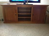 Beautiful TV stand/credenza for sale! It is handcrafted