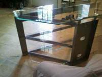 I have a tempered glass tv stand that is in like new