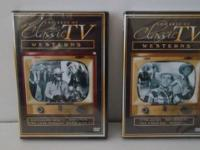 ~ Unopened ~ Classic TV Westerns (2) DVD's Roy Rogers,