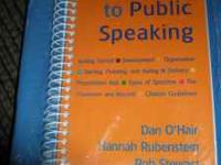 A Pocket Guide to Public Speaking by Dan O'Hair, Hannah