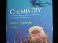 Chemistry An introduction to General, Organic, and