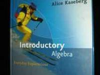 Introductory Algebra Everyday Explorations by Alice