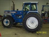 EXTREAMLY nice! 1989 Front wheel assist Ford Tractor