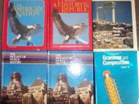 Twelve (12) School Textbooks. My grandmother worked for