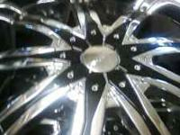 Rims are Krome and Black and are in good condition.