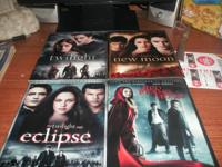 2-disc special edition of the first 3 twilight movies,