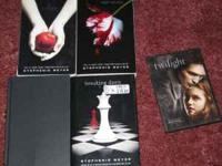 I have all 4 Twilight books, the 1st two are in soft