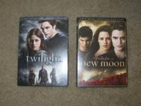 Special Edition DVD's: Twilight and New Moon First