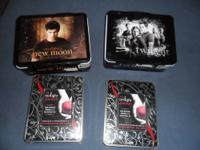 I have for sale or trade 2 Twilight lunch boxes,