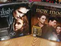 Twilight & New Moon Board Games. Twilight has only been
