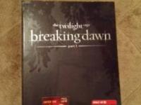 I have the Twilight saga Breaking Dawn part one special