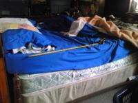 have a twin bed has box spring with bed and frame all