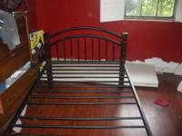 Used Twin Bed has minor scratches/dings. Most