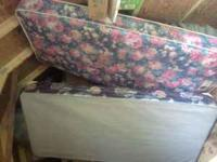 Very nice Twin Bed Frame, Headboard, & Footboard pine