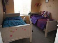 I am trying to sell my daughter's beds. two beds + the