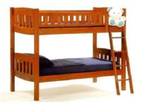J & M Castle Twin - Twin Bunk Bed Used briefly. Like