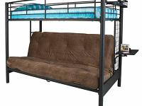twin bunk bed with futon on bottom i have the futon