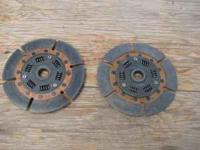 Selling both Exedy Twin disc clutch discs. They were on