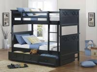 COYLE Bunk Bed COLLECTION: Twin Bunk bed/Full only (as