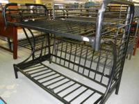 Featured Item Twin / Full Size Bunk Bed / Futon Good