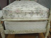 Twin size mattress available in our showroom, check us