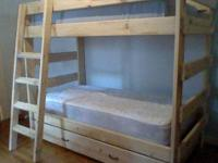 This bed is made from solid 2 X 6 sustainable Southern