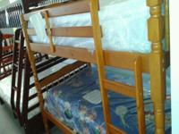 Type:Kids RoomsType:Furniture Brand New Twin Over Twin