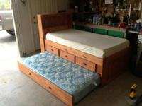AWESOME DEAL...Here is a beautiful twin bed with built
