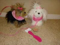 Twin Pucci Bag with Yorkie & Maltese Includes 2