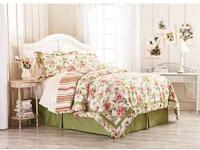 Beautiful reversible twin 3 peice comforter set