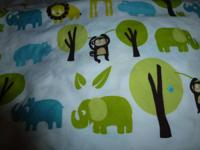 Twin safari sheet set. Great condition. No rips or