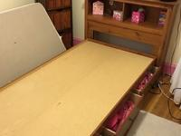 Twin size bed and headboard. Really good condition.