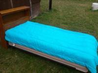 Antique Steel Twin Bed W Headboard Foot Board Cast Iron