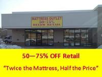 "Utah Mattress Outlet ""50 - 75% Below Retail - Every"