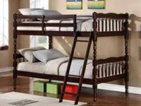 Twin/Twin Wooden Bunk Bed $249 New in Box! Delivery