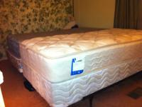 Twin bed. (Plush Mattress & Box Spring). $90 money.