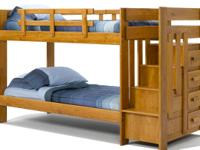 This Bed is built like a TANK.... Twin over Twin