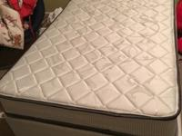Hi,I am selling my twin size bed(mattress and frame),