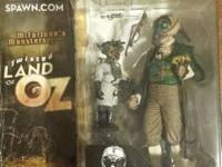 McFarlane - spawn.  Twisted Land of Oz Figures (Set of