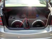 "I have 2 12"" Sony Xplod subs (1300W each) with a 1200W"