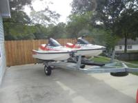 TWO 1989 WR500F WAVERUNNER SKIES BOTH IN GOOD RUNNING