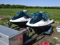 I have a pair of 1997 gtx jetskis on double trailer