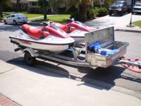 TWO 1997 YAMAHA GP1200 WAVERUNNERS (ONE WITH 120 HRS