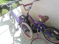 "i have 2 girls bikes 20"" kids outgrew extra wheel and"