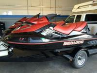 This jet ski has a bad motor is being sold as-is for