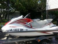 Two 2007 Yamaha Jet Ski, (1)-2007 VX Deluxe, 35.8