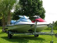 "2008 SEA DOO GTI WITH ""6"" HOURS & 2006 SEA DOO GTX"