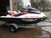 Two 2011 Sea Doo Wake Pro 215swith 2011 Continental